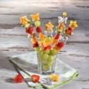 Foremki do wyciskania w warzywach i owocach