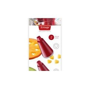 Foremki do wyciskania konfetti w warzywach i owocach